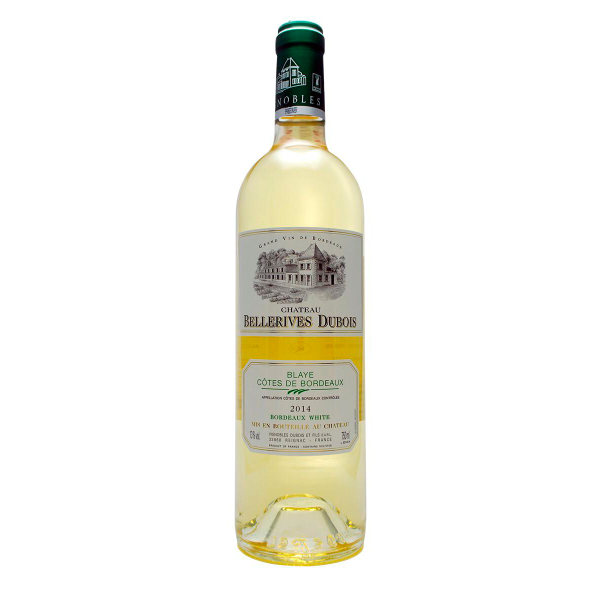GRAND VIN Chateau Bellerives branco 2016