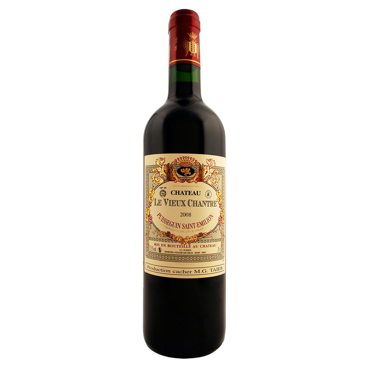 GRAND VIN Puisseguin Saint-Emilion - Chateau Le Vieux Chantre 2008