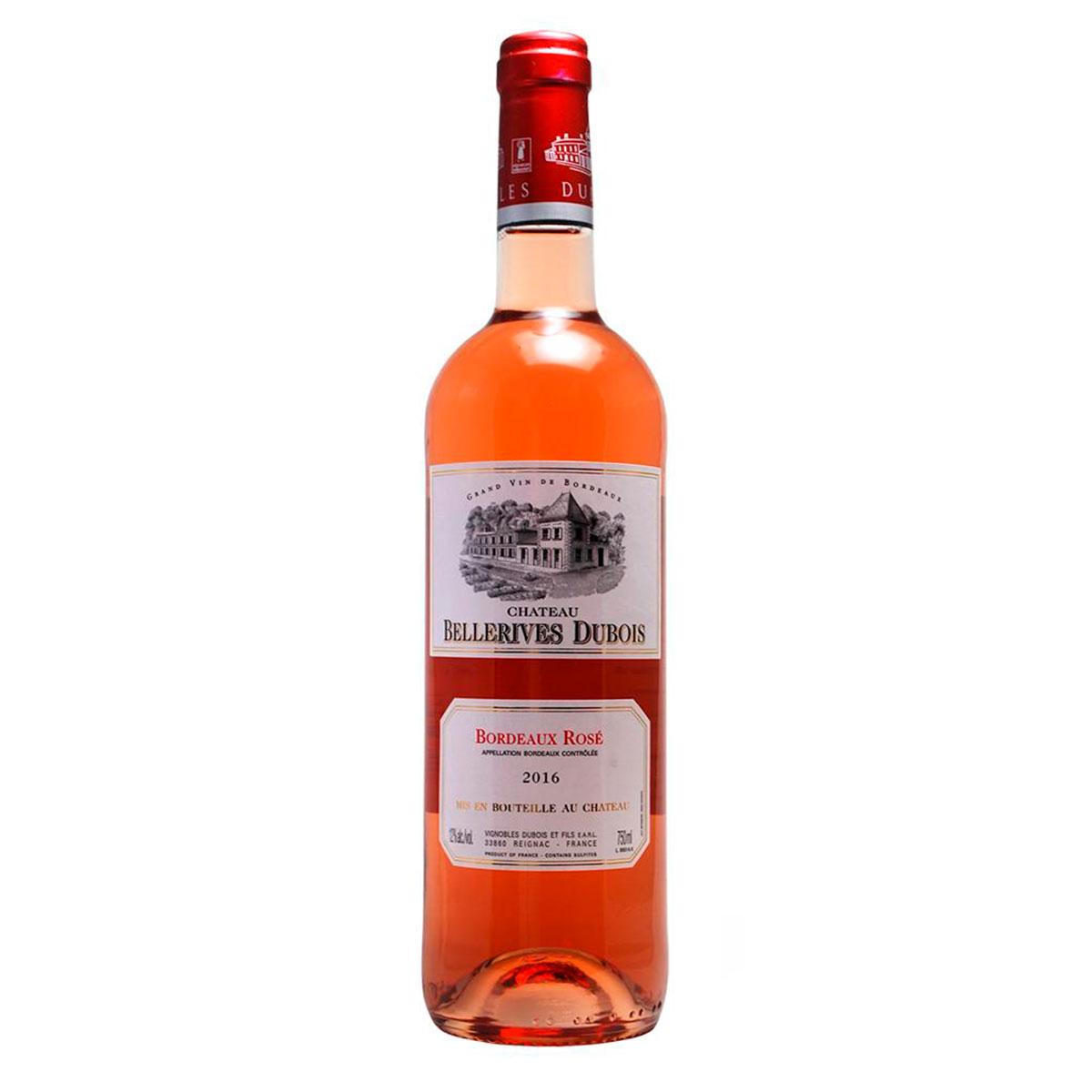 GRAND VIN Chateau Bellerives Dubois Rosé 2016